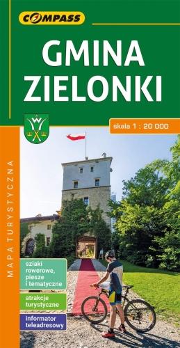 Gmina Zielonki Mapa Turystyczna Compass