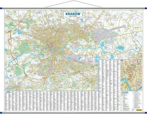 Plan Krakowa Mapa Wydawnictwa Compass