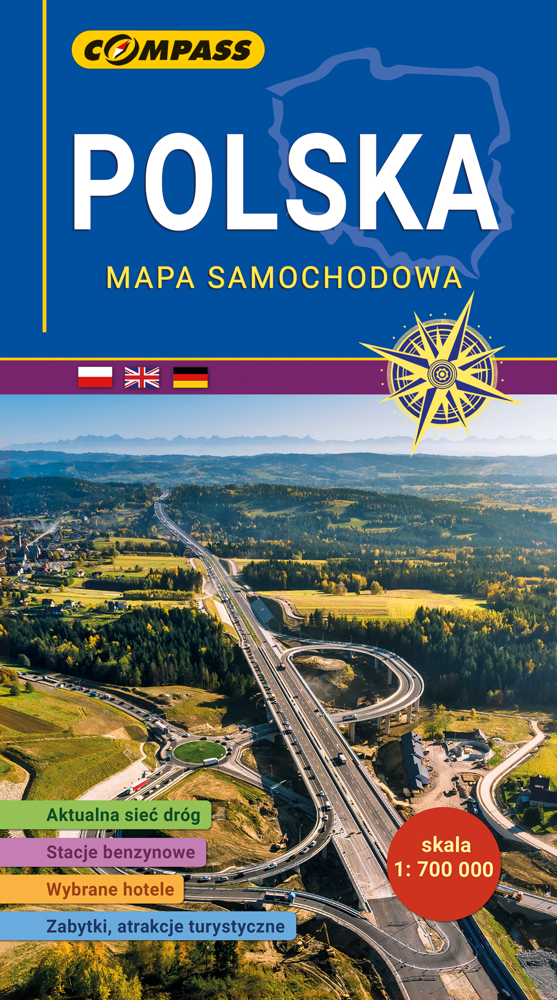 Mapa Samochodowa Polski 2020